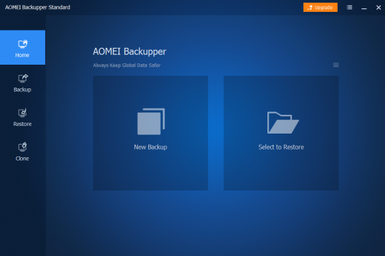 The Function and the Usages of the Windows Backup Software-AOMEI Backupper